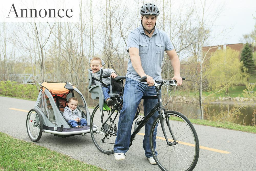 De bedste cykelanhængere