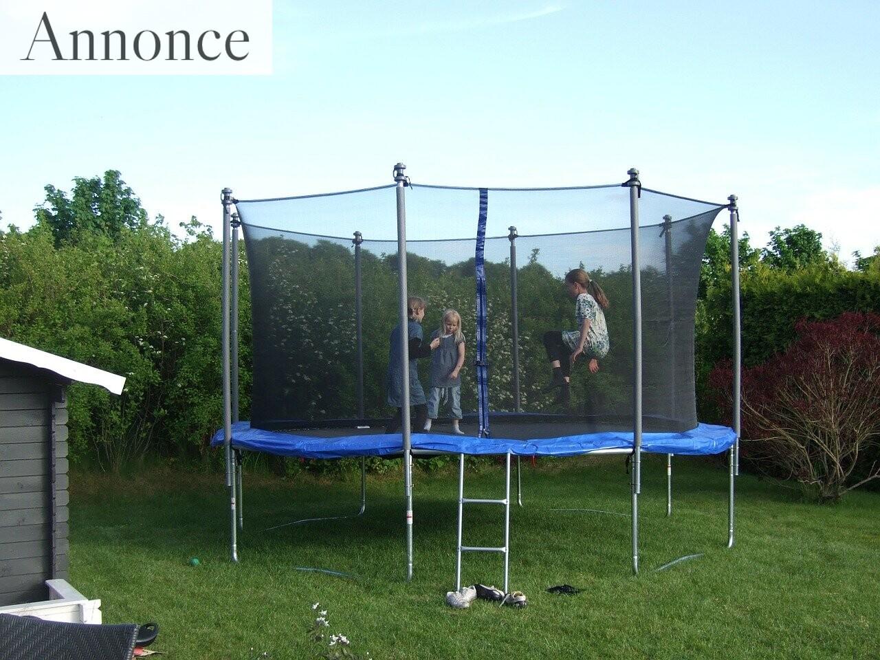 Sådan vælger du den rigtige trampolin